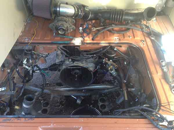 Vanagon Subaru Conversion - by Wonderous World
