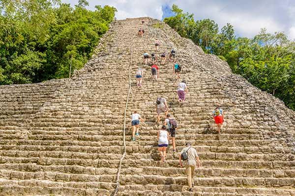 Coba Pyramid Tours