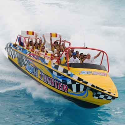 Speed Boat Tour In Cancun Wonderous World