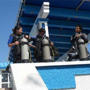 cancun-boat-dive-preparation