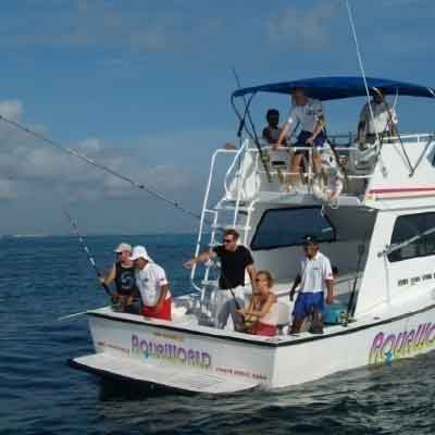 Deep sea fishing tour in cancun wonderous world for Deep sea fishing mexico