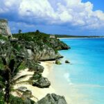 Tulum mexico stunning mayan ruins overlooking a fantastic beach a must see destination.
