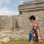 Tulum-ruins-walking