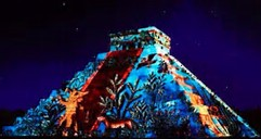 chichen-itza-night-show-from-playa-del-carmen